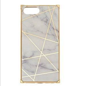 ICING White Marble Geometric iPhone 6/7+/8+ Case